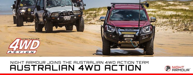 Night Armour and Livid Join Australian 4wd Action